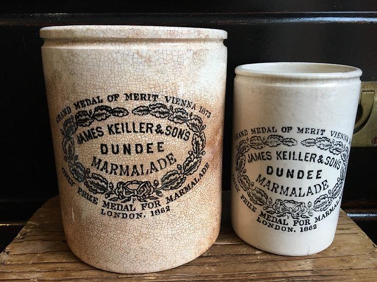 3lb James Keiller Dundee marmalade pot