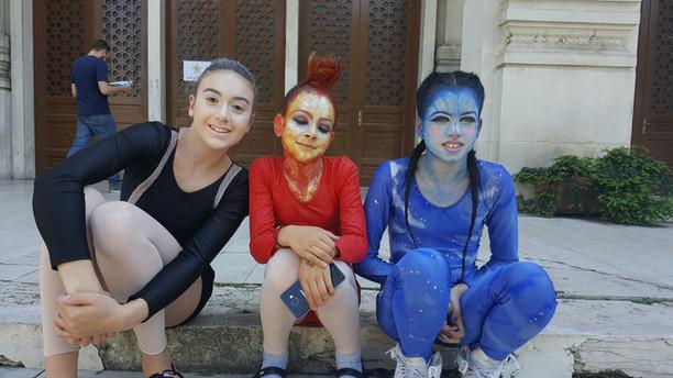 Nastup najmlađih članica u Milanu