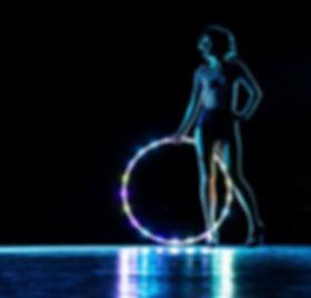 Traumatic Arts  hula hoop