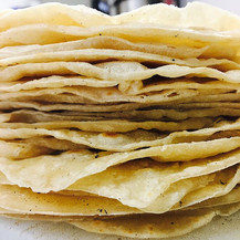 Introducing our fresh made flour tortillas. Hand rolled and made with porky goodness.jpg