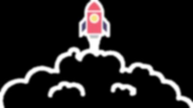 Rocket launch icon