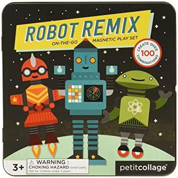ROBOT REMIX משחק מגנטי רובוטים
