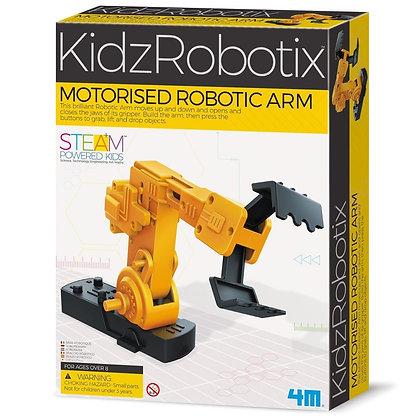 KidzRobotix MOTORISED ROBOTIC ARM זרוע רובוטית