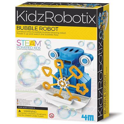 KidzRobotix Bubble robot רובוט בועות סבון
