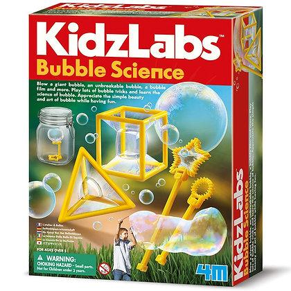 KidzLabs BUBBLE SCIENCE מעבדת בועות