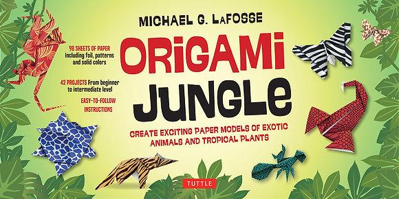 Origami Jungle Kit   ערכת אוריגמי ג׳ונגל