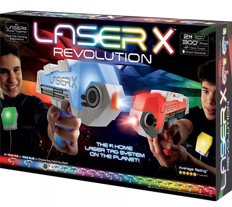 Laser X Revolution -  משחק לייזר טאג צבעוני