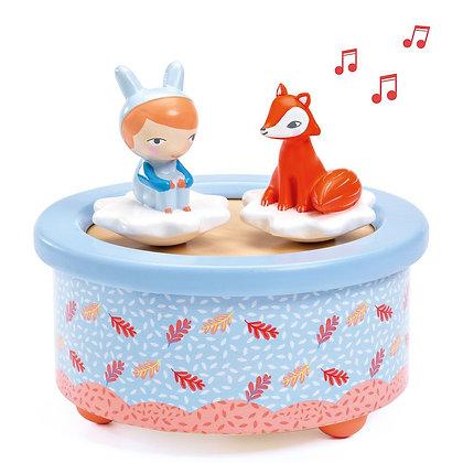 fox melody | תיבת נגינה מסתובבת-יער