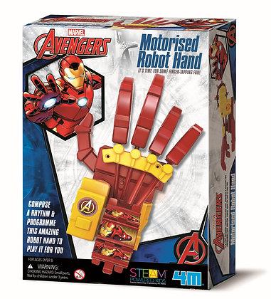 Avengers -Motorised Robot Hand   הנוקמים - יד רובוטית