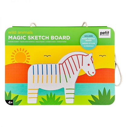 Magic Sketch board Wild Animals