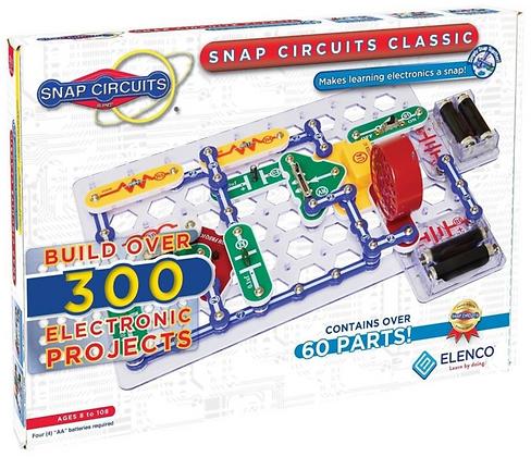 Snap Circuits Classic 300 סנאפ סירקיטס300 ניסויים קלאסי