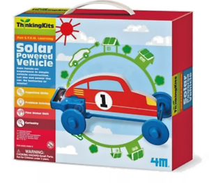 thinking kits solar powered vehicle רכב סולארי לקטנים