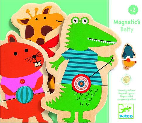 Magnetic's Belty | מגנטים עץ 2 חלקים-פופיק