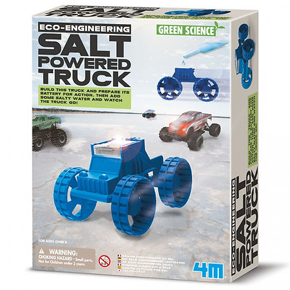ECO-ENGINEERING SALT POWERED TRUCK ערכת מדע מכונית אקולוגית