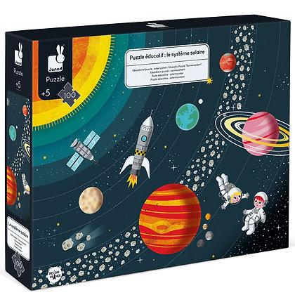 Solar System Puzzle 100 pcs - פאזל מערכת השמש 100 חלקים