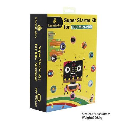 Micro:Bit Super Starter Kit Kids   ערכת אלקטרוניקה וניסויים לילדים מיקרוביט