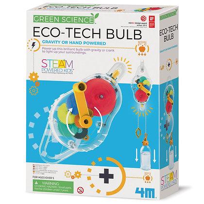 Green science eco tech bulb | פנס כיס דינמו