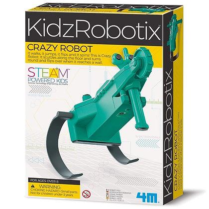 KidzRobotix CRAZY ROBOT רובוט משוגע