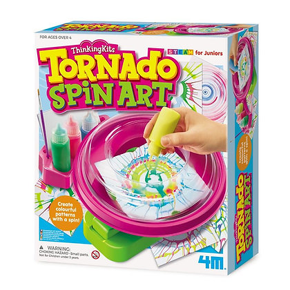 Tornado spinart מכונת אומנות בסביבון