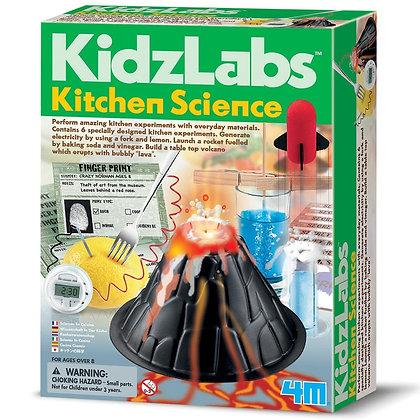 KidzLabs Kitchen Science - מדע במטבח