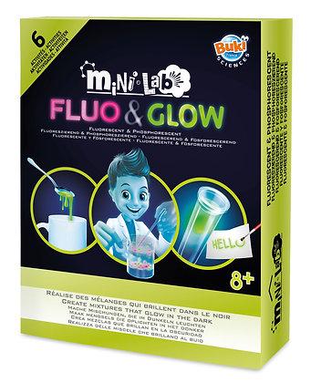 Mini Lab Fluo & Glow Energy מיני מעבדת נוזלים זוהרים