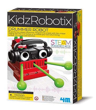 KidzRobotix Drummer Robot   רובוט מתופף להרכבה