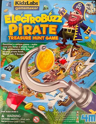 ElectroBuzz Pirate Treasure Hunt | מעבדה ליצירת משחקים - ציד אוצרות פיראטים