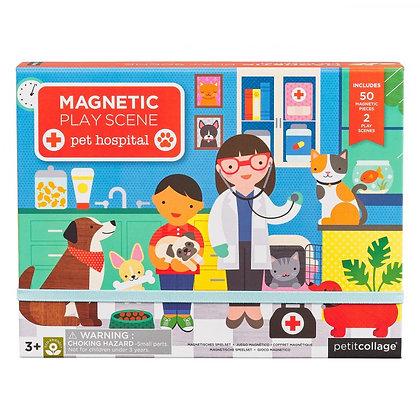 MAGNETIC PLAY SCENE Pet Hospital