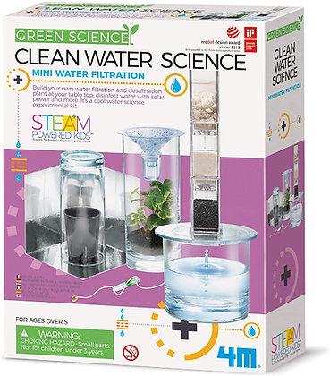 Clean Water Science ערכת מדע טיהור מים