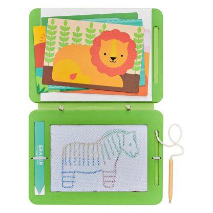 לוח ציור קסם חיות פרא Magic Sketch board Wild Animals