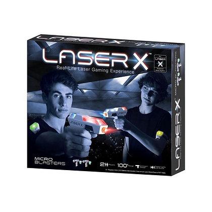 Laser X Micro Blasters משחק לייזר טאג
