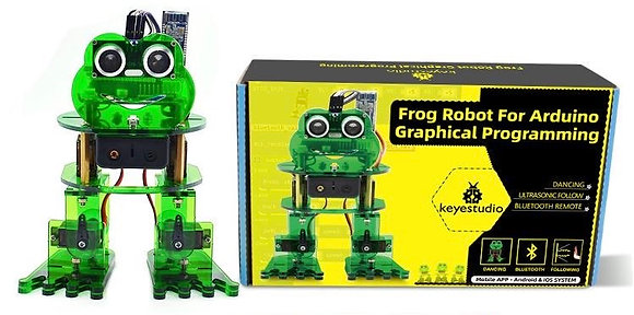 Frog Robot for arduino graphical programming