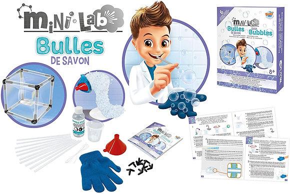 ערכת ניסויים בבועות סבון מיני מעבדה בוקי - Buki Mini Lab Soap Bubbles