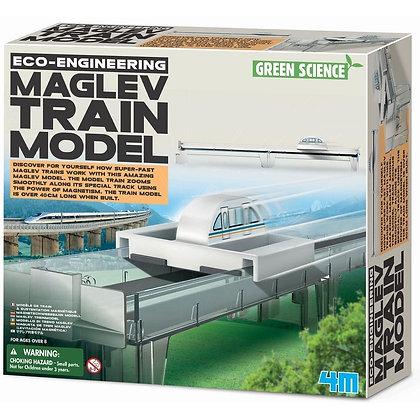 ECO-ENGINEERING MAGLEV TRAIN MODE רכבת מגנטית