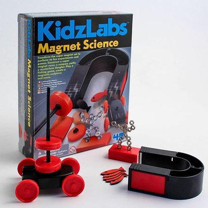 KidzLabs MAGNET SCIENCE מדע המגנטים