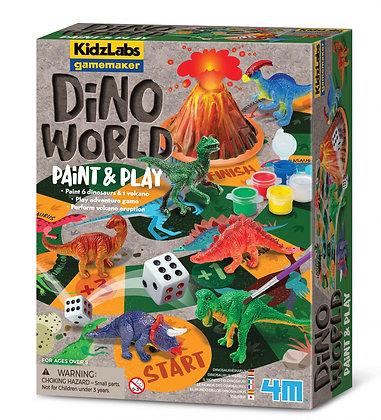 KidzLabs Dino World | מעבדה ליצירת משחקים - עולם הדינוזאורים