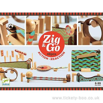 Zig and Go 48 זיג אנד גו דומינו
