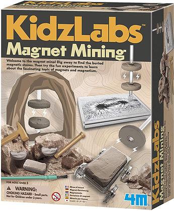 KidzLabs Magnet Mining כרייה מגנטית