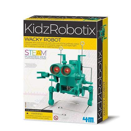 kidzrobotix wacky robot רובוט מטורלל