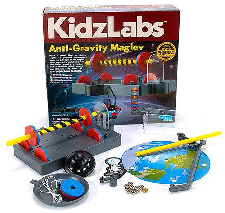 KidzLabs Anti-Gravity Maglev מדע המגנטים