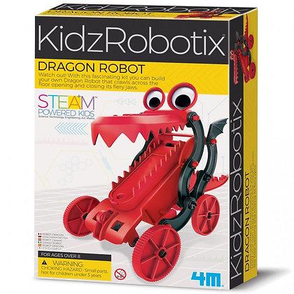 KidzRobotix Dragon Robot ערכת רובוט דרקון להרכבה