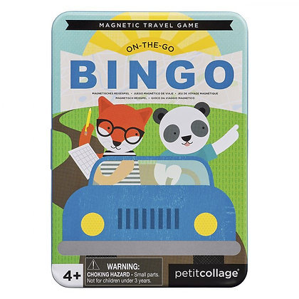 On The Go Bingo משחק בינגו מגנטי לדרכים