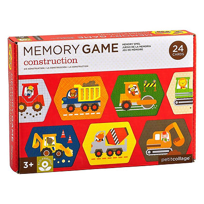 memo game - construction   משחק זיכרון – כלי בנייה