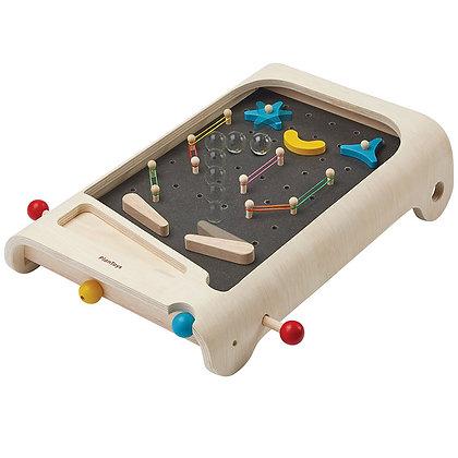 Plan Toys - PINBALL מכונת פינבול מעץ