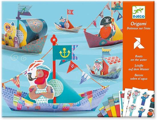 origami boats djeco אוריגמי סירות