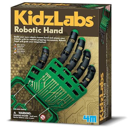 KidzLabs ROBOTIC HAND ערכה להרכבת יד רובוטית