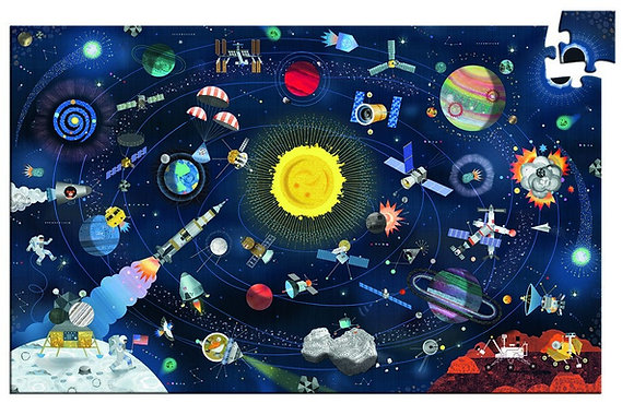 puzzle observation פאזל חלל
