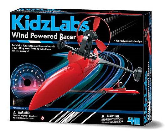KidzLabs Wind Powered Racer | מעבדה - מכונית מרוץ מונעת רוח