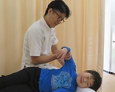 子供の姿勢改善プログラム