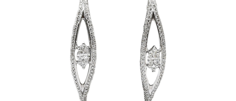 The Diamond Eye Earrings